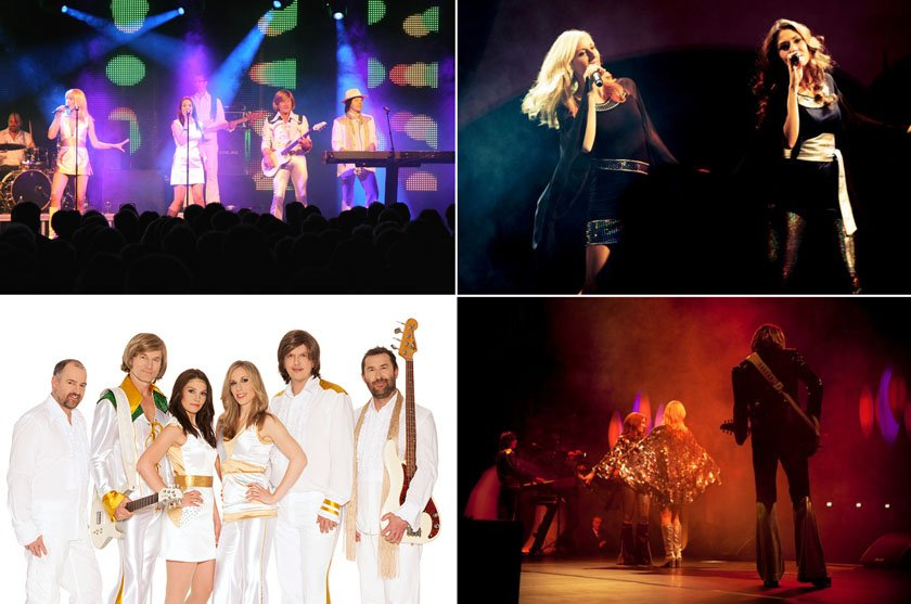 ABBA Anna Collage