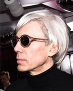 Andy Warhol Lookalike double Imitator