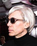 Andy Warhol Lookalike double Imitator