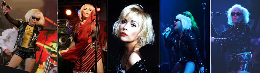 Blondie GB Collage