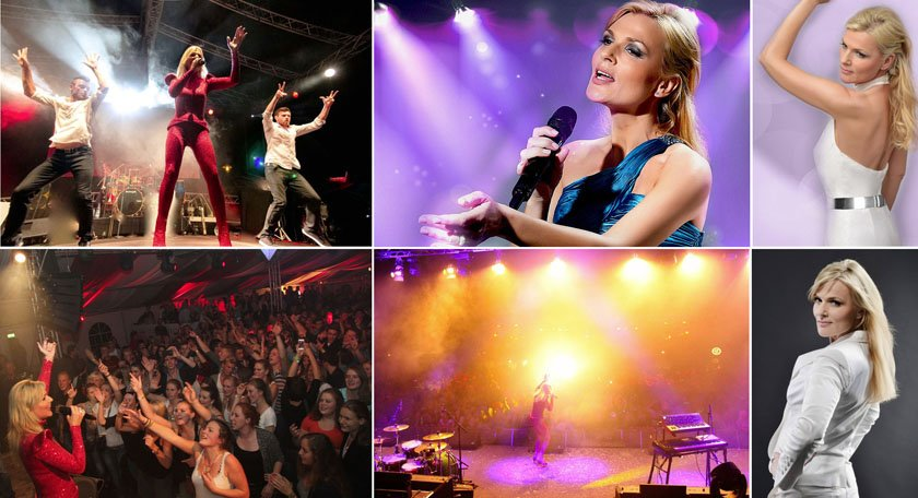 Helene Fischer B. Collage