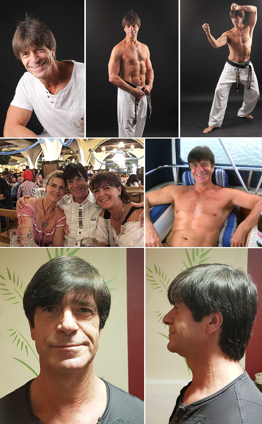 Jogi Loew Double Collage