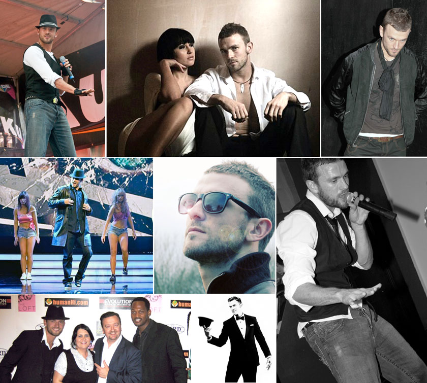 Justin Timberlake Tribute Collage