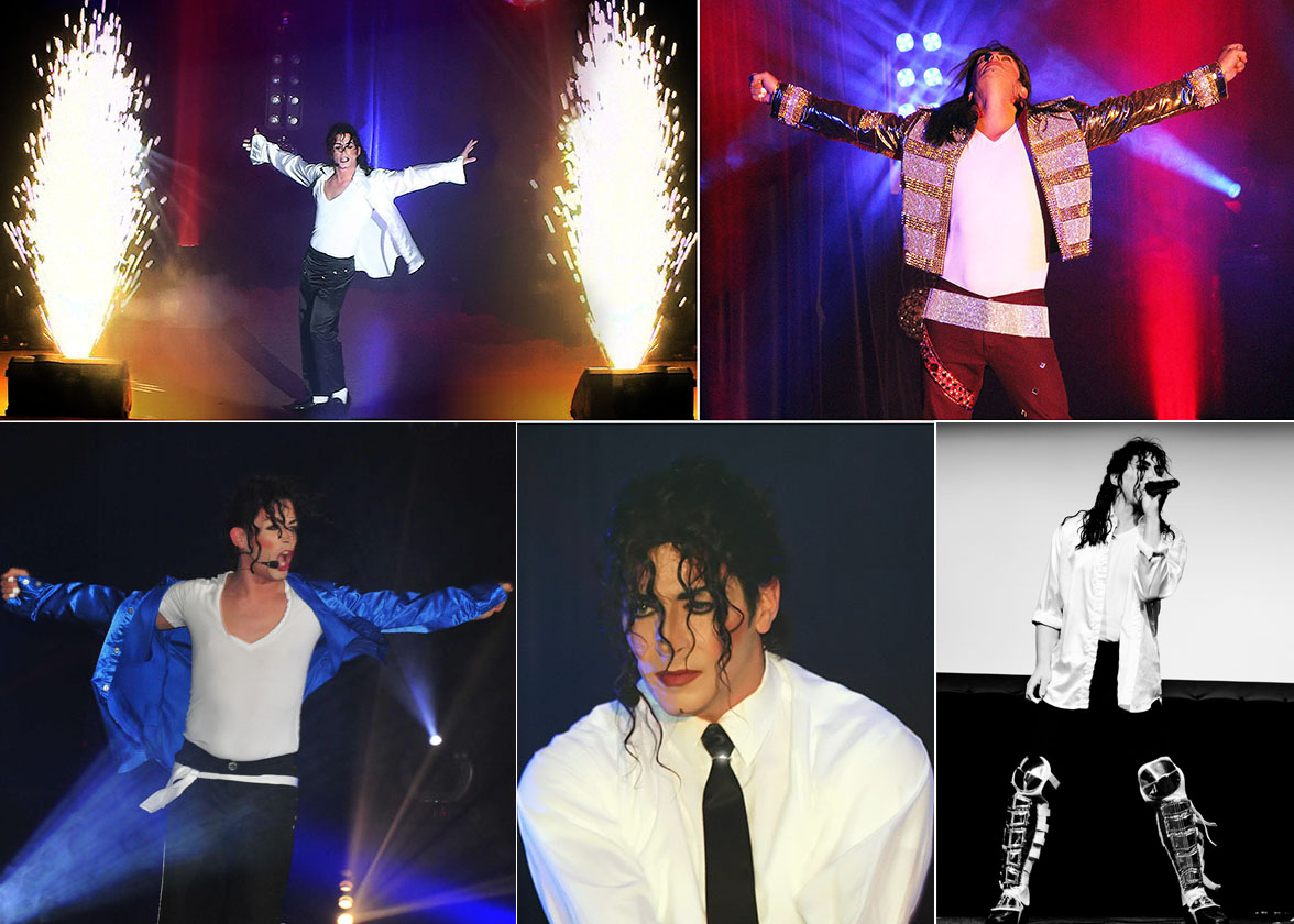 Michael jackson Ke. Collage